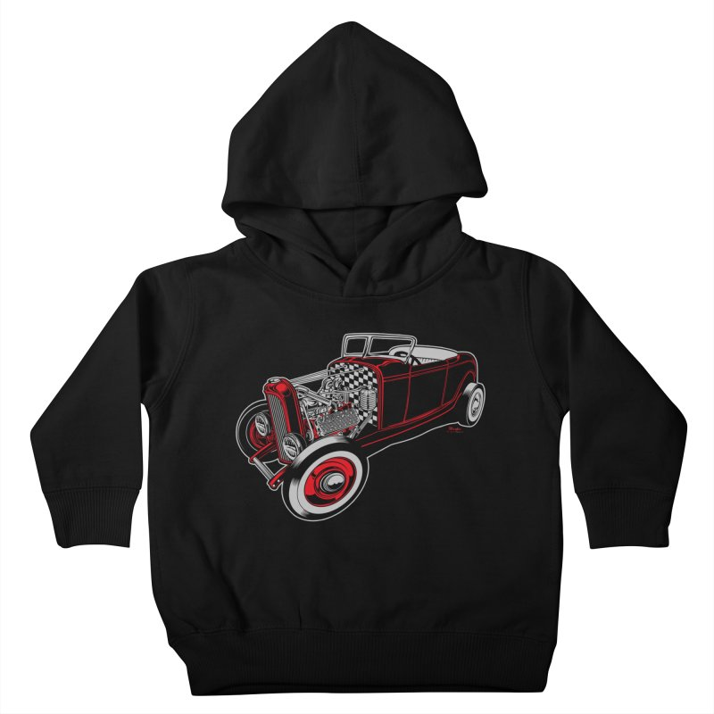 32 Kids Toddler Pullover Hoody by EngineHouse13's Artist Shop