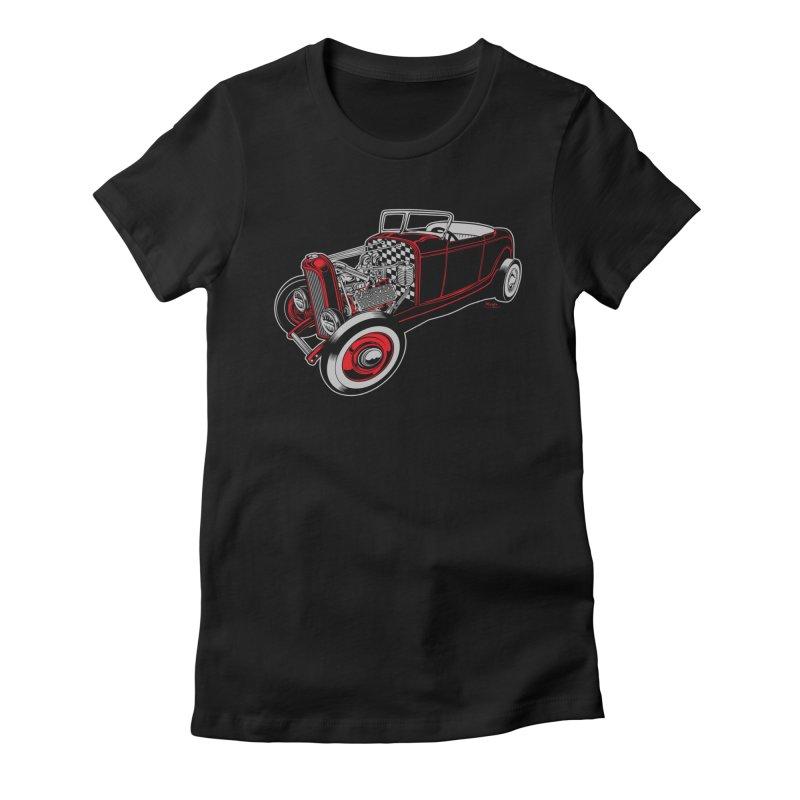 32 Women's T-Shirt by EngineHouse13's Artist Shop