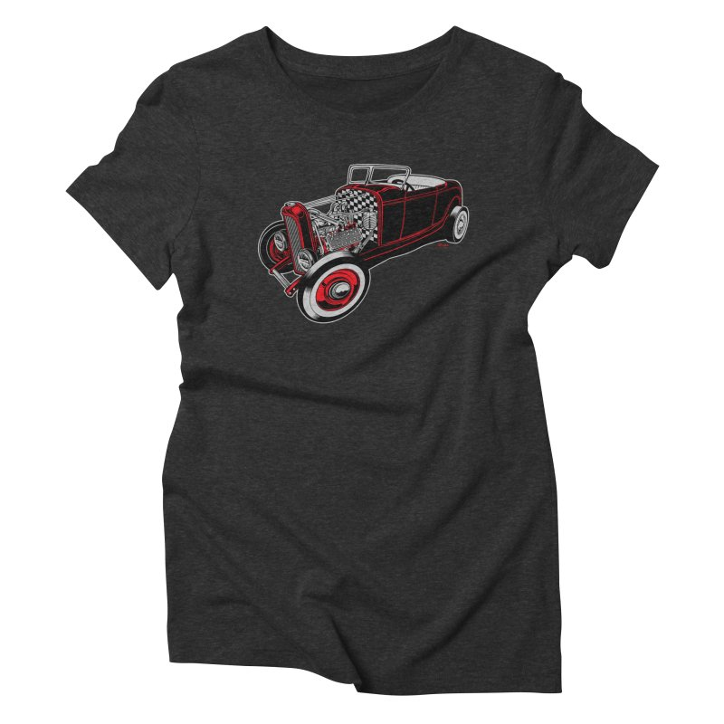 32 Women's Triblend T-Shirt by EngineHouse13's Artist Shop