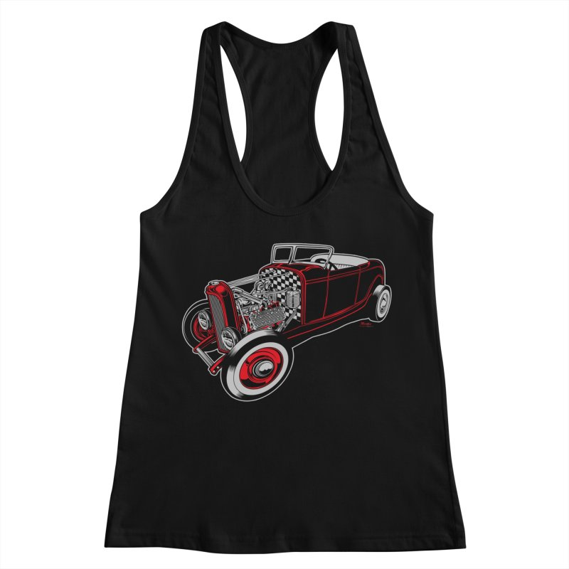 32 Women's Tank by EngineHouse13's Artist Shop