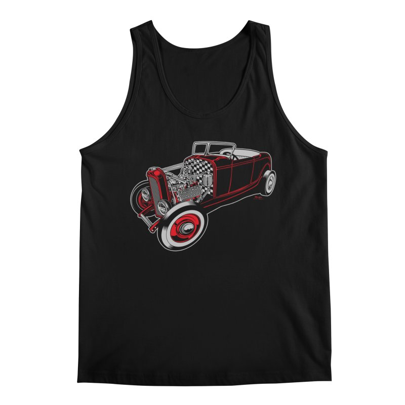 32 Men's Regular Tank by EngineHouse13's Artist Shop