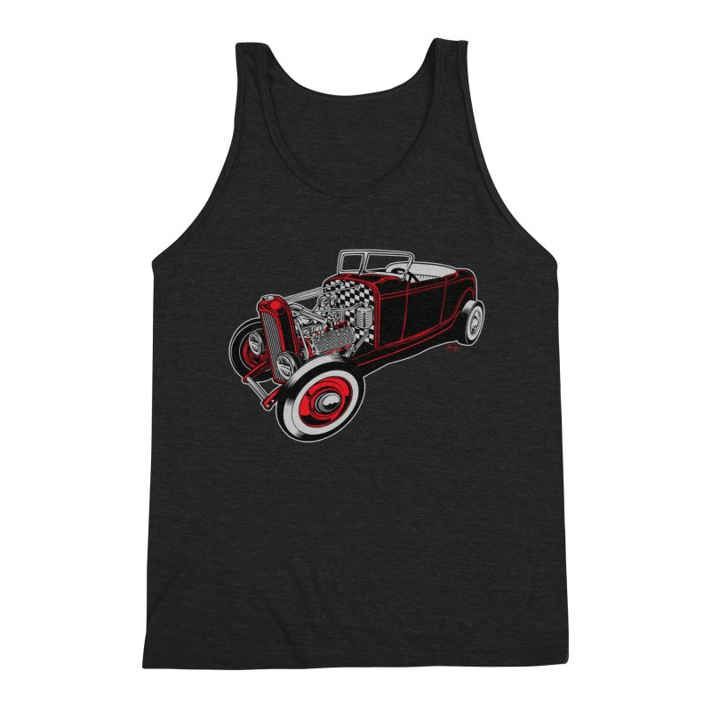 32 Men's Triblend Tank by EngineHouse13's Artist Shop