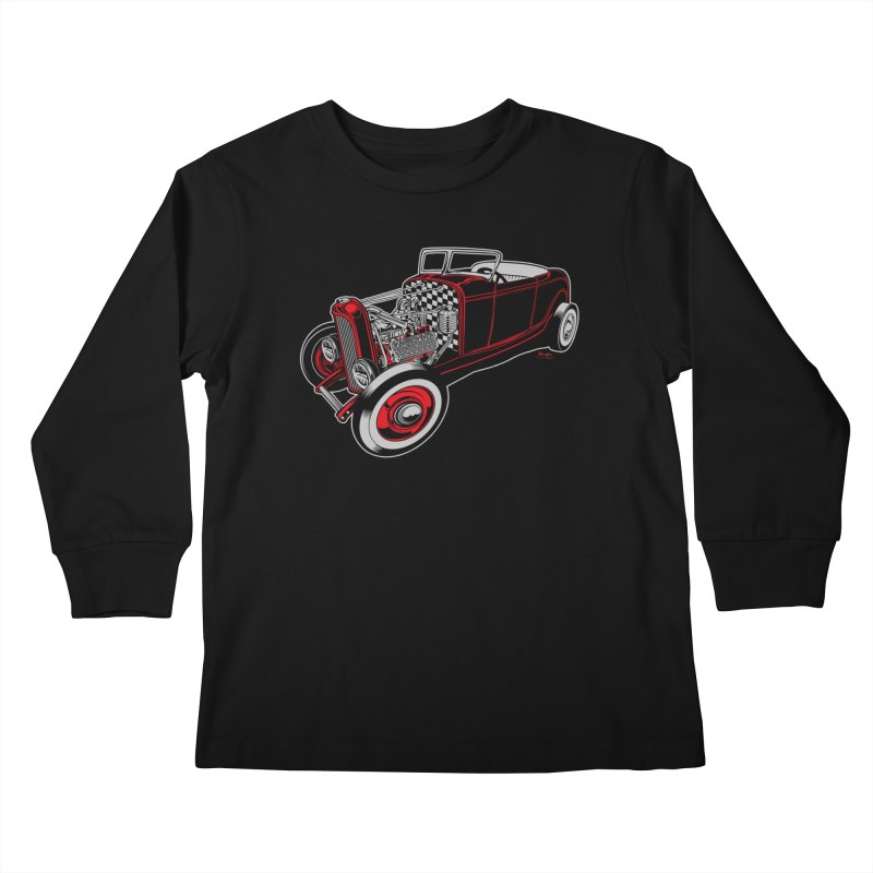 32 Kids Longsleeve T-Shirt by EngineHouse13's Artist Shop