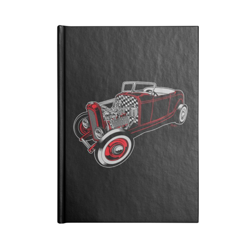 32 Accessories Lined Journal Notebook by EngineHouse13's Artist Shop