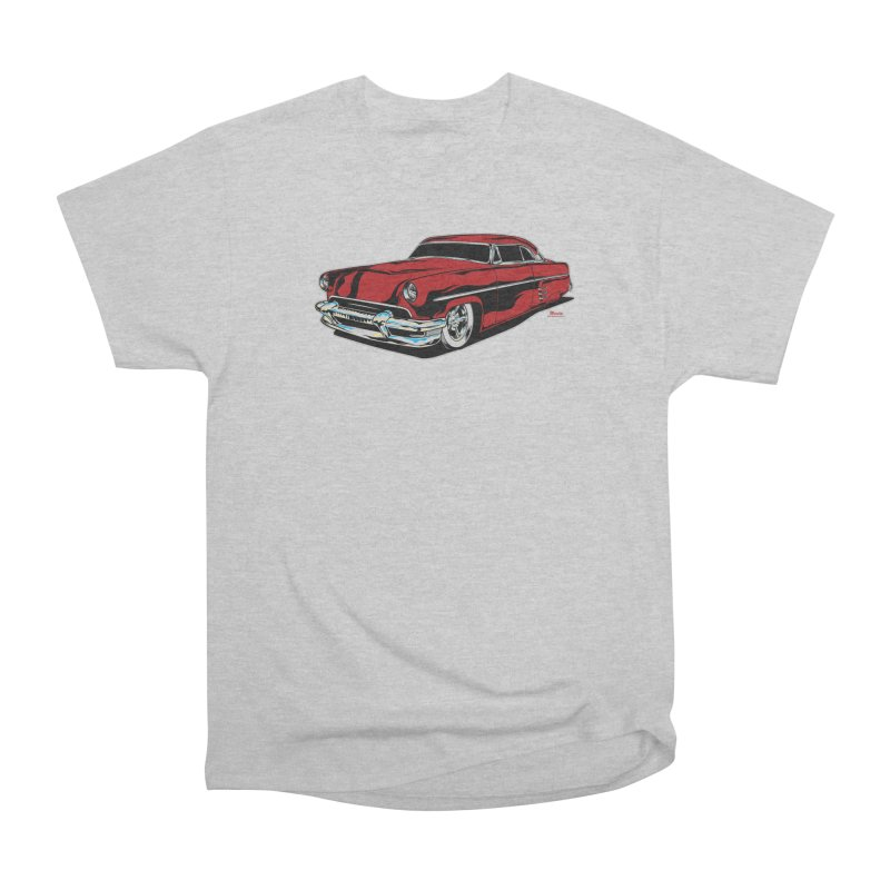 54 Custom Men's Heavyweight T-Shirt by EngineHouse13's Artist Shop