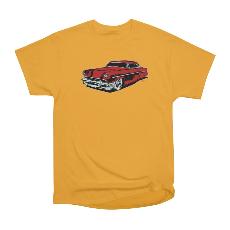 54 Custom Men's Heavyweight T-Shirt by EngineHouse13's Artist Shop