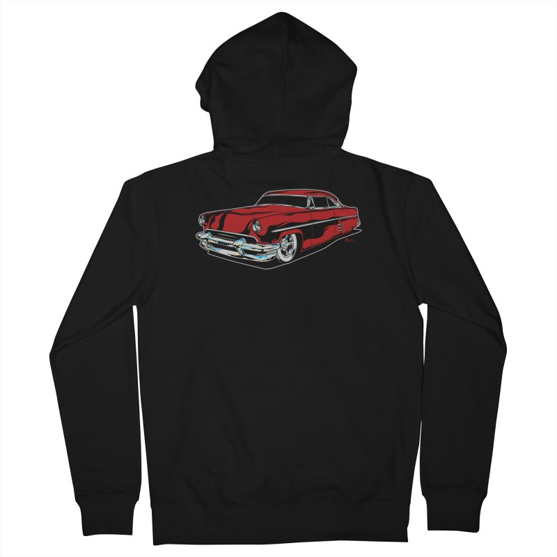 54 Custom Men's Zip-Up Hoody by EngineHouse13's Artist Shop