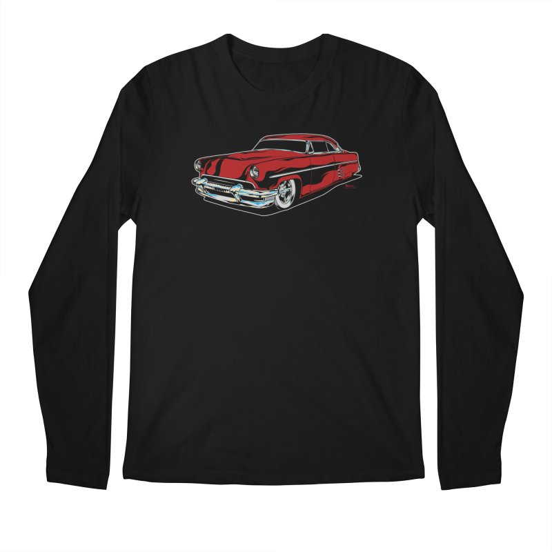 54 Custom Men's Regular Longsleeve T-Shirt by EngineHouse13's Artist Shop