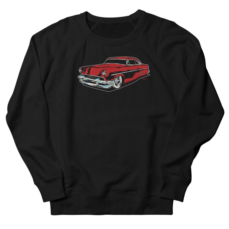 54 Custom Men's French Terry Sweatshirt by EngineHouse13's Artist Shop