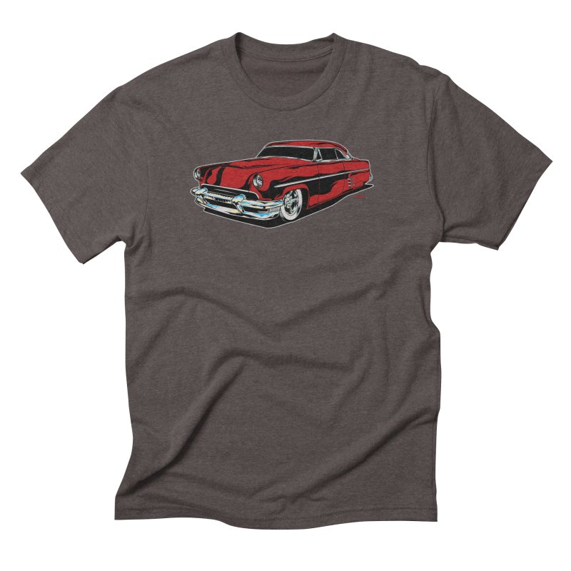 54 Custom Men's Triblend T-Shirt by EngineHouse13's Artist Shop