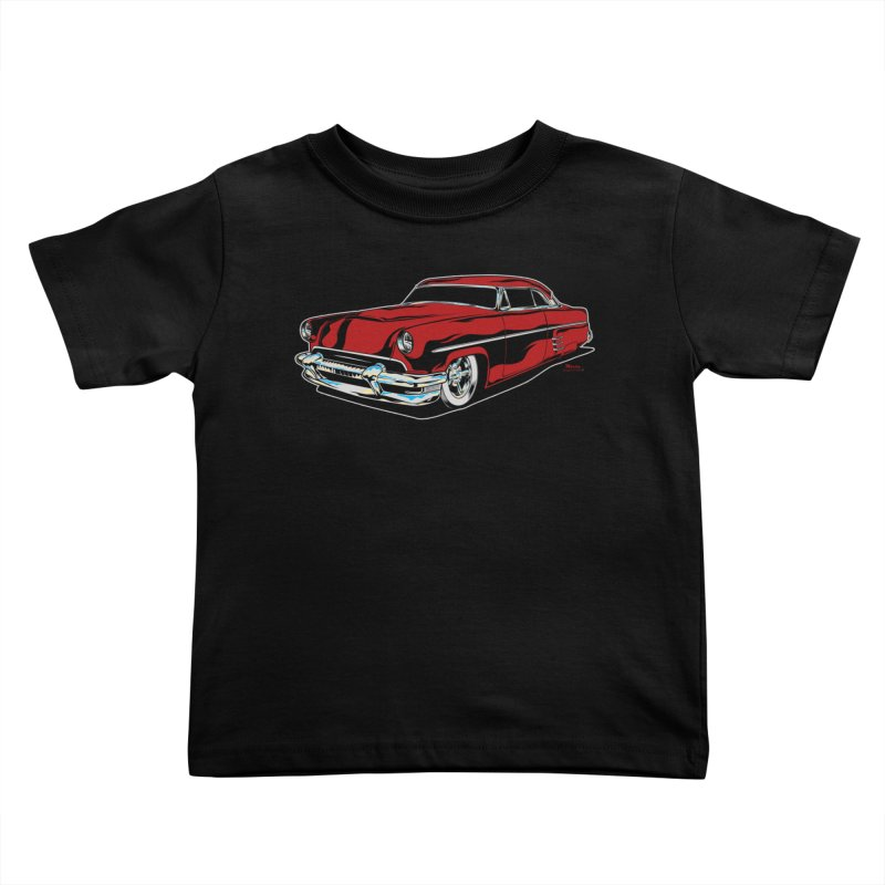 54 Custom Kids Toddler T-Shirt by EngineHouse13's Artist Shop