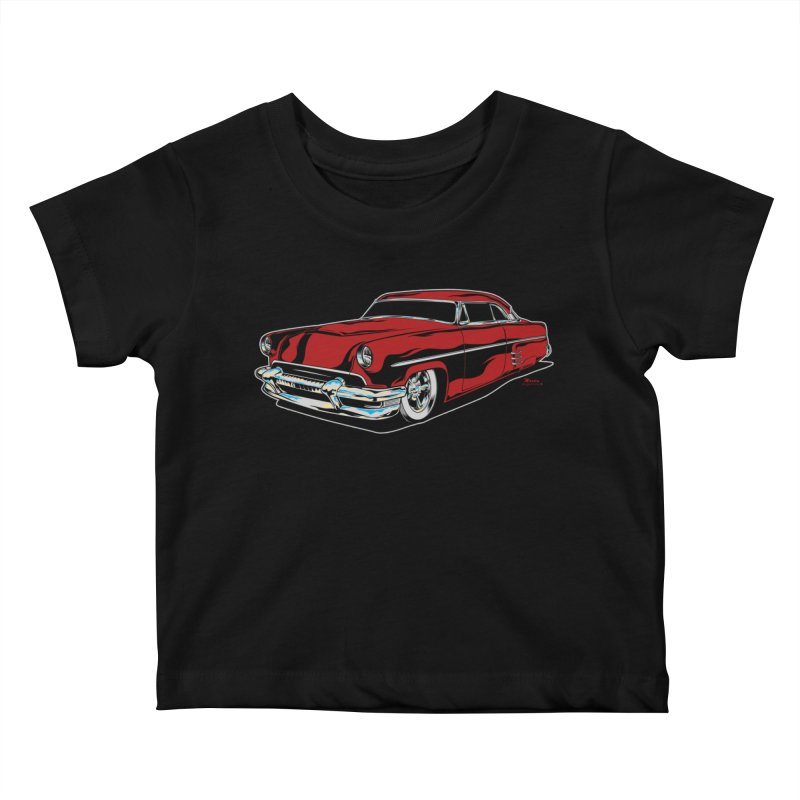 54 Custom Kids Baby T-Shirt by EngineHouse13's Artist Shop