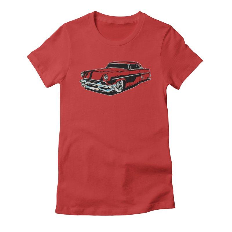 54 Custom Women's T-Shirt by EngineHouse13's Artist Shop
