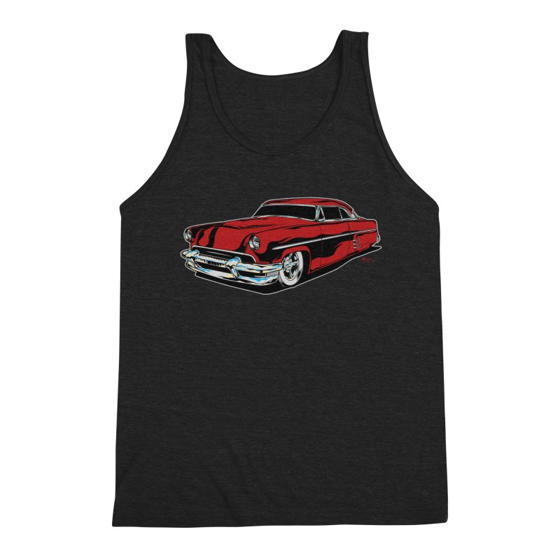54 Custom Men's Triblend Tank by EngineHouse13's Artist Shop