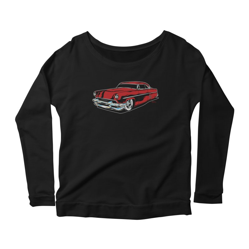 54 Custom Women's Scoop Neck Longsleeve T-Shirt by EngineHouse13's Artist Shop