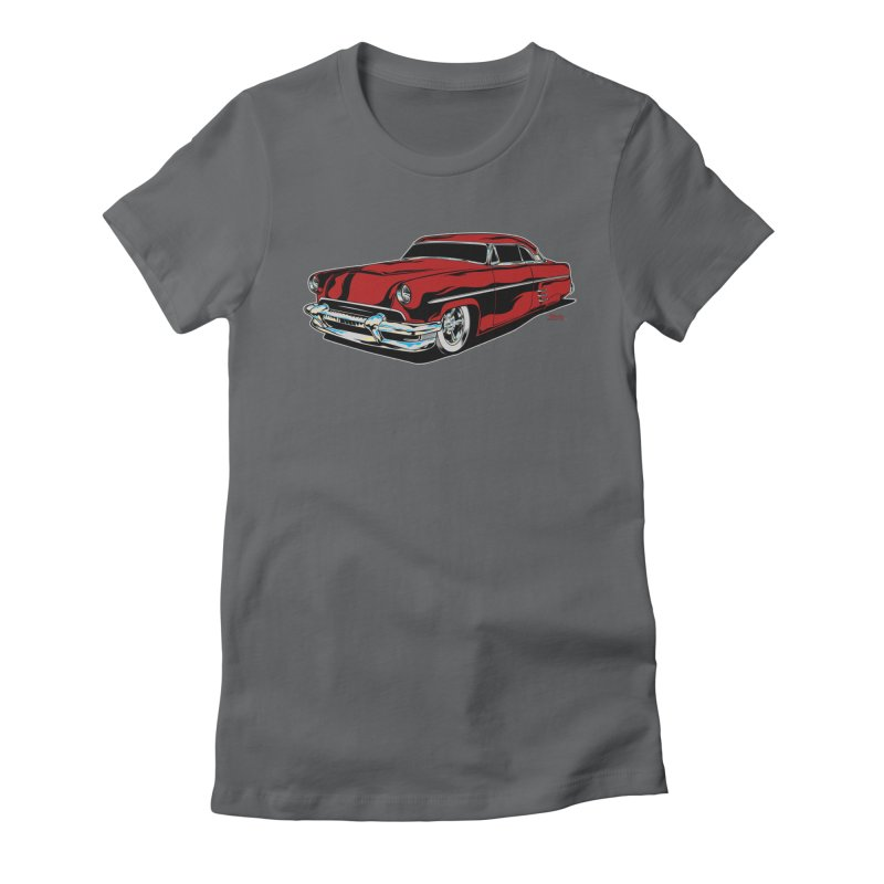 54 Custom Women's Fitted T-Shirt by EngineHouse13's Artist Shop