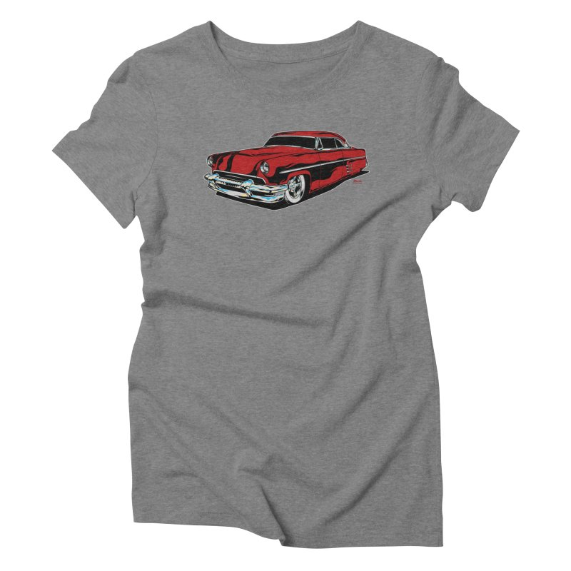54 Custom Women's Triblend T-Shirt by EngineHouse13's Artist Shop