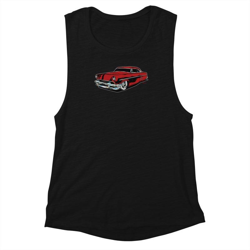 54 Custom Women's Muscle Tank by EngineHouse13's Artist Shop