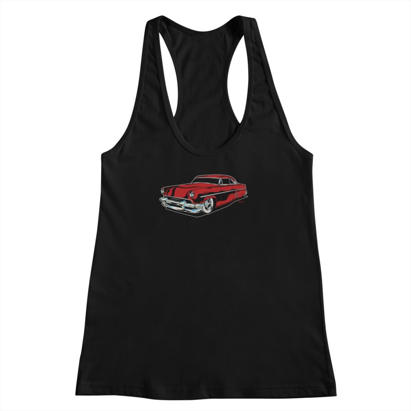 54 Custom Women's Racerback Tank by EngineHouse13's Artist Shop
