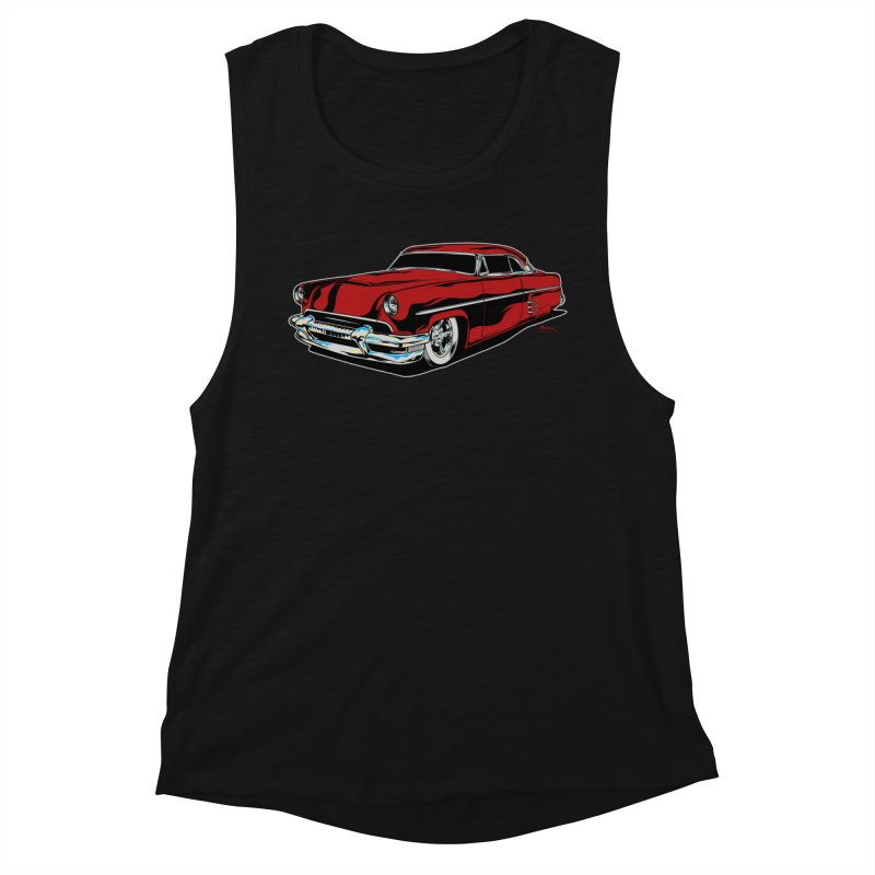 54 Custom Women's Muscle Tank by EngineHouse13's Artist Shop