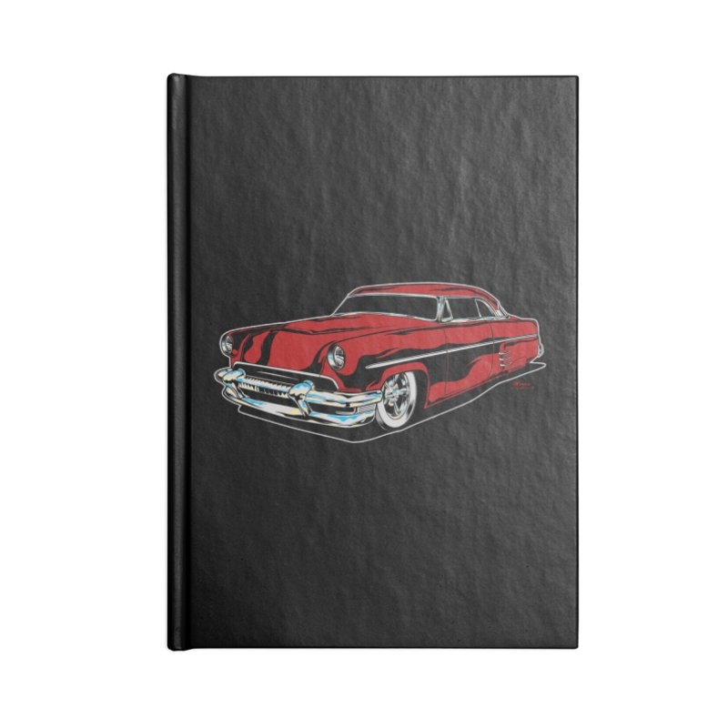 54 Custom Accessories Lined Journal Notebook by EngineHouse13's Artist Shop