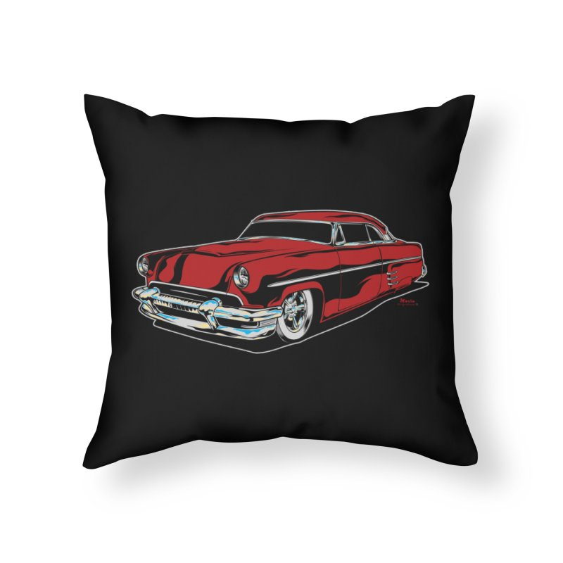 54 Custom Home Throw Pillow by EngineHouse13's Artist Shop