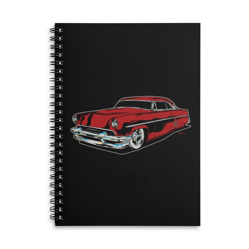 54 Custom Accessories Lined Spiral Notebook by EngineHouse13's Artist Shop