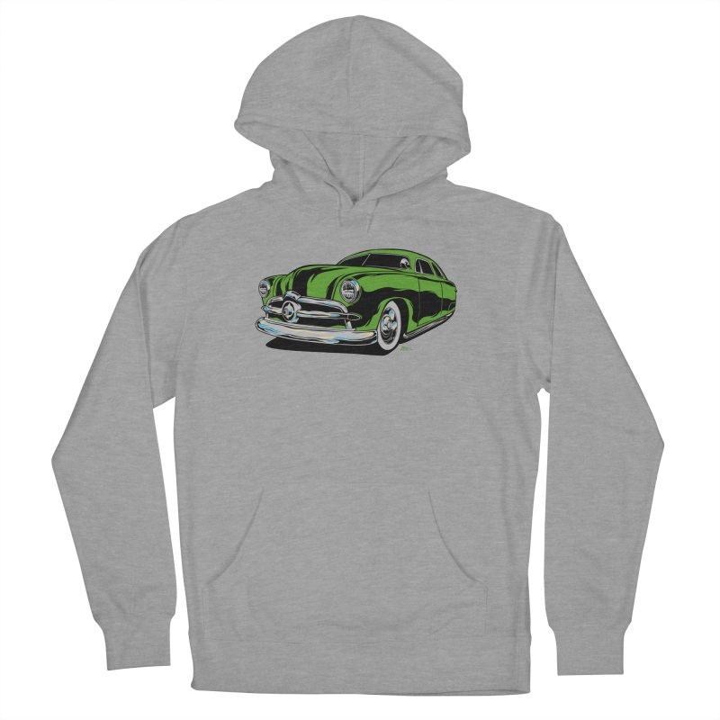 1950 Shoebox Kustom Women's French Terry Pullover Hoody by EngineHouse13's Artist Shop