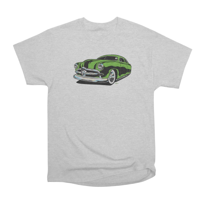 1950 Shoebox Kustom Women's Heavyweight Unisex T-Shirt by EngineHouse13's Artist Shop