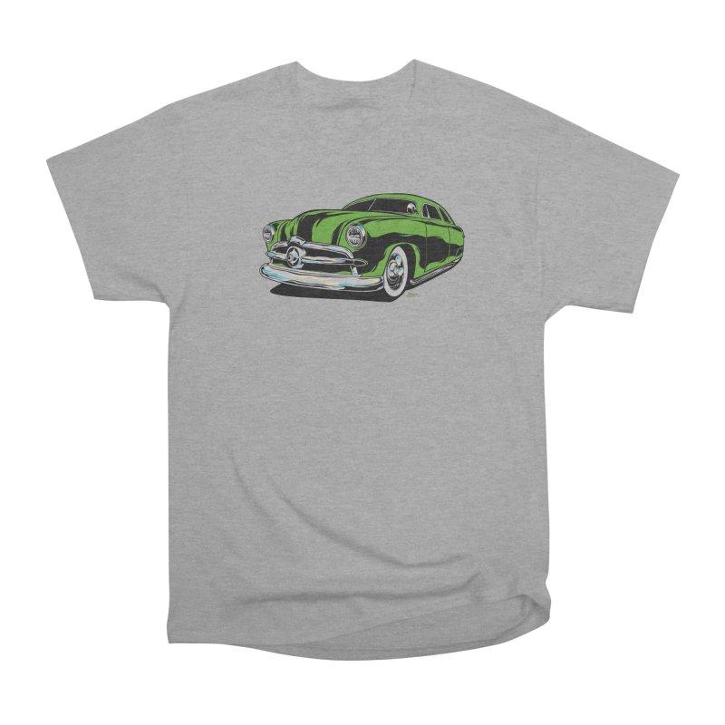1950 Shoebox Kustom Men's Heavyweight T-Shirt by EngineHouse13's Artist Shop