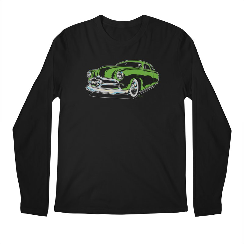 1950 Shoebox Kustom Men's Regular Longsleeve T-Shirt by EngineHouse13's Artist Shop