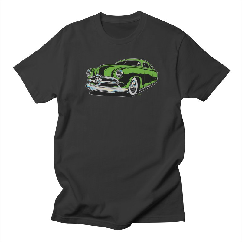 1950 Shoebox Kustom Men's T-Shirt by EngineHouse13's Artist Shop