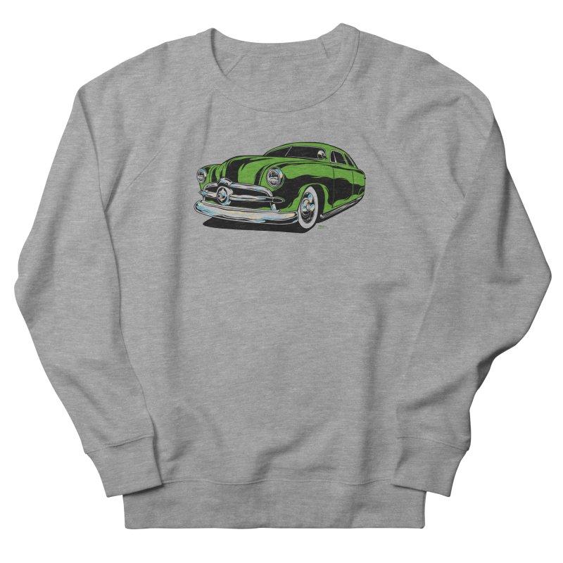 1950 Shoebox Kustom Women's French Terry Sweatshirt by EngineHouse13's Artist Shop