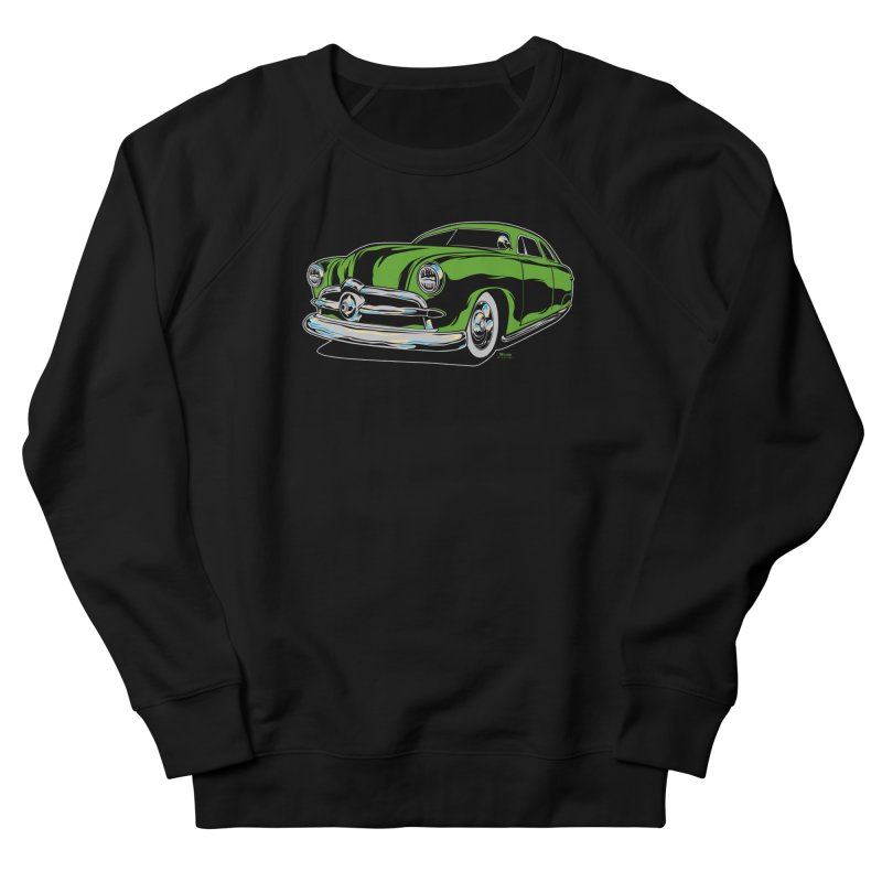 1950 Shoebox Kustom Women's French Terry Sweatshirt by EngineHouse13's Artist Shop