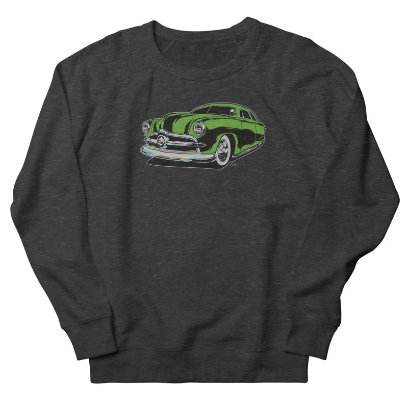 1950 Shoebox Kustom Men's French Terry Sweatshirt by EngineHouse13's Artist Shop
