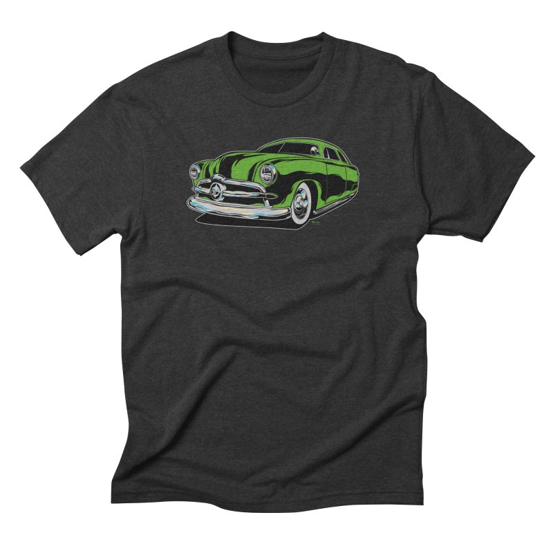 1950 Shoebox Kustom Men's Triblend T-Shirt by EngineHouse13's Artist Shop
