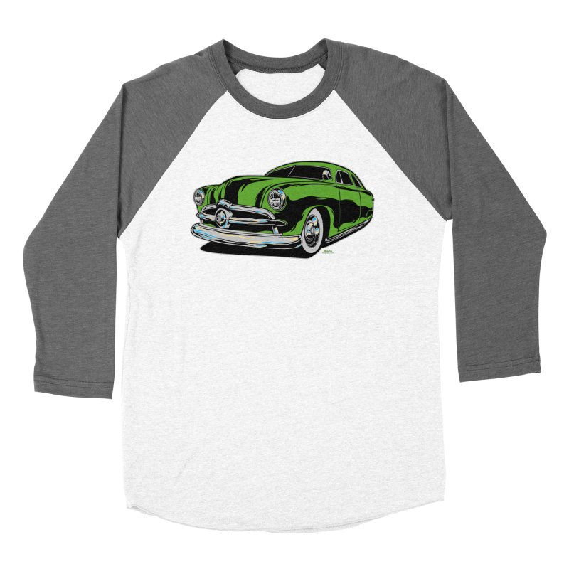 1950 Shoebox Kustom Women's Baseball Triblend Longsleeve T-Shirt by EngineHouse13's Artist Shop