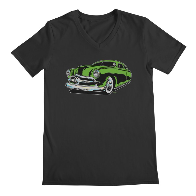 1950 Shoebox Kustom Men's Regular V-Neck by EngineHouse13's Artist Shop