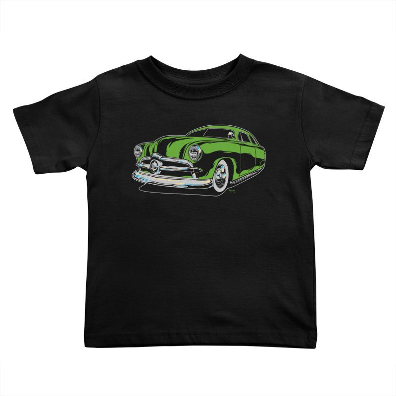 1950 Shoebox Kustom Kids Toddler T-Shirt by EngineHouse13's Artist Shop