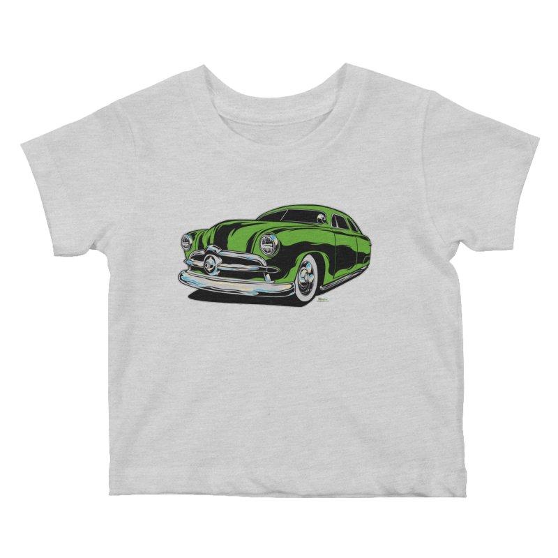 1950 Shoebox Kustom Kids Baby T-Shirt by EngineHouse13's Artist Shop
