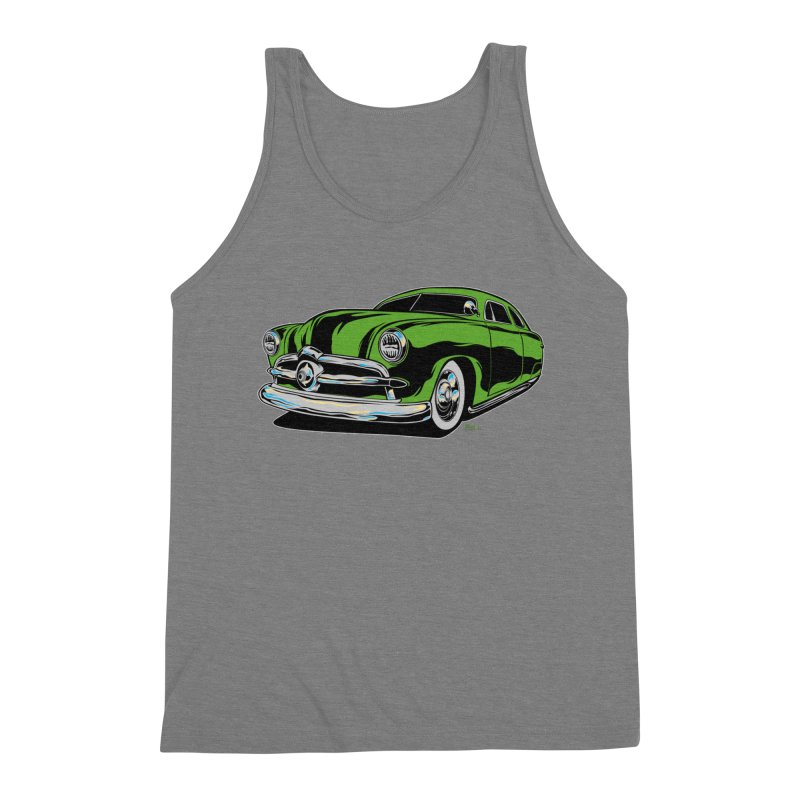 1950 Shoebox Kustom Men's Triblend Tank by EngineHouse13's Artist Shop