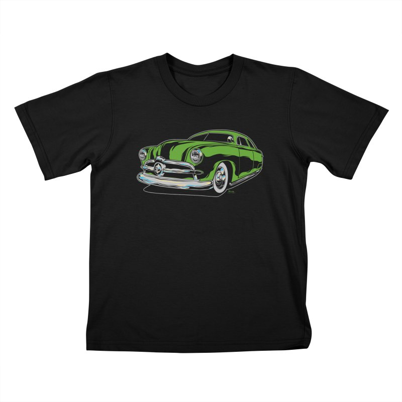 1950 Shoebox Kustom Kids T-Shirt by EngineHouse13's Artist Shop