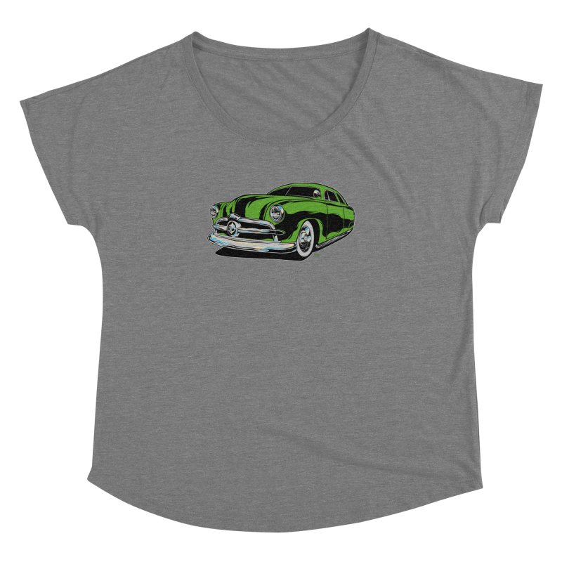 1950 Shoebox Kustom Women's Scoop Neck by EngineHouse13's Artist Shop