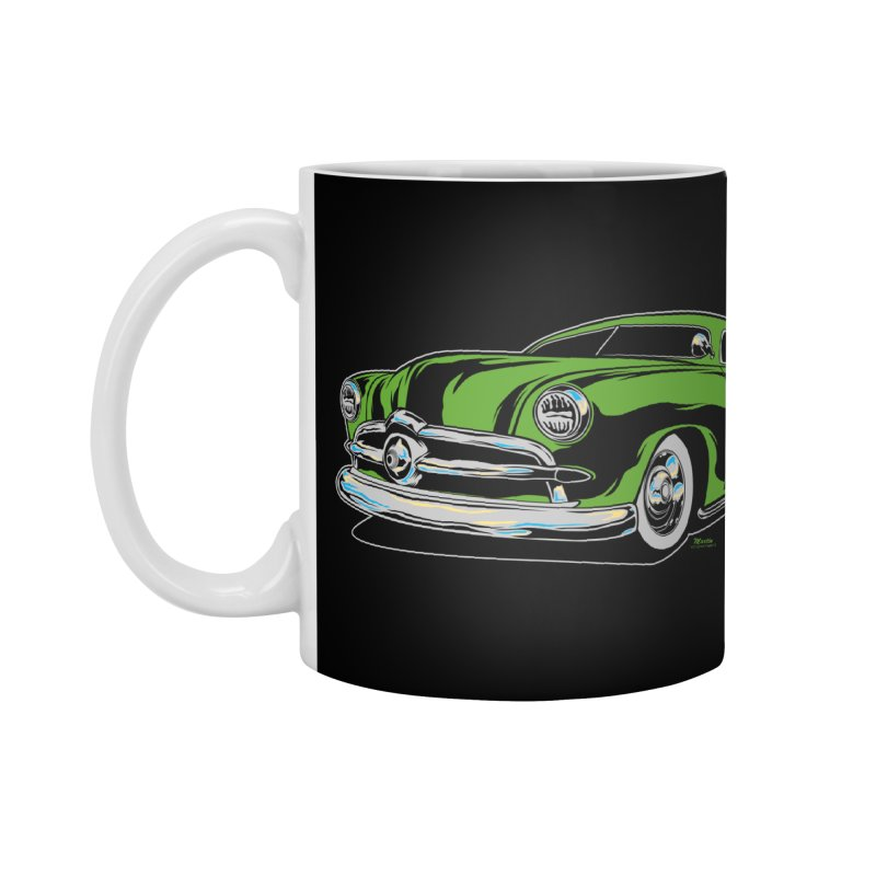 1950 Shoebox Kustom Accessories Mug by EngineHouse13's Artist Shop