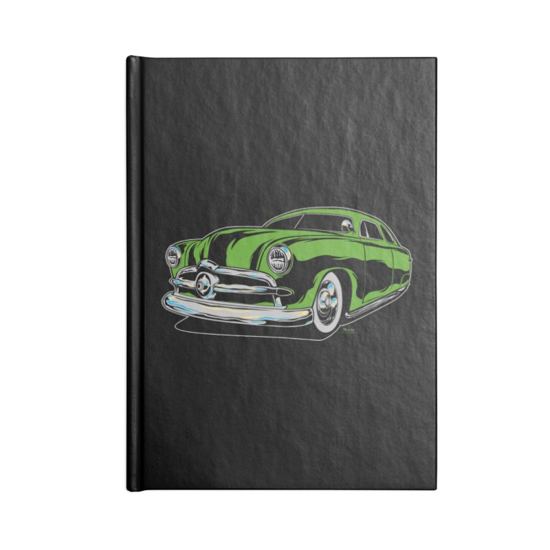 1950 Shoebox Kustom Accessories Blank Journal Notebook by EngineHouse13's Artist Shop