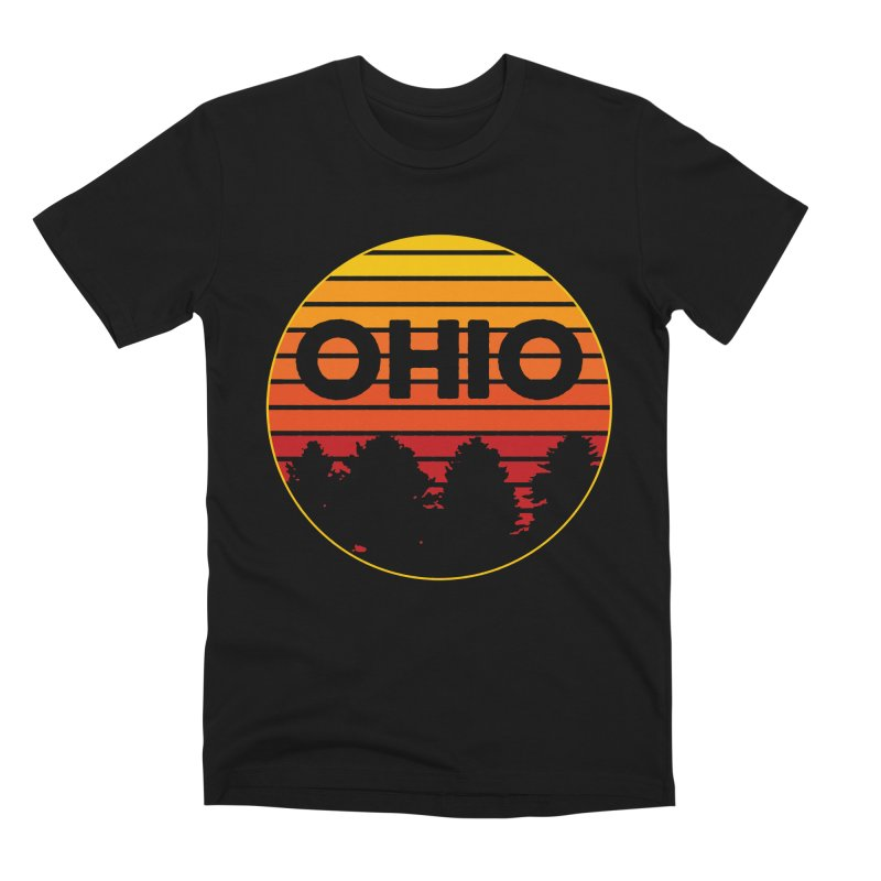 Ohio Sunsets Men's Premium T-Shirt by EngineHouse13's Artist Shop