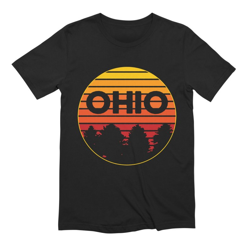 Ohio Sunsets Men's Extra Soft T-Shirt by EngineHouse13's Artist Shop
