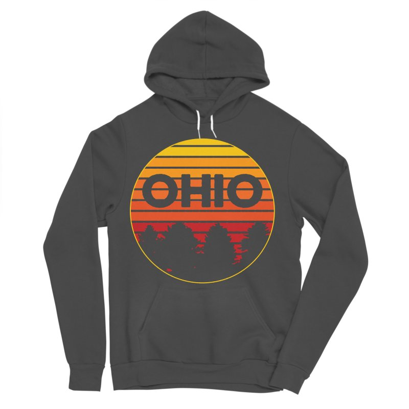 Ohio Sunsets Men's Sponge Fleece Pullover Hoody by EngineHouse13's Artist Shop