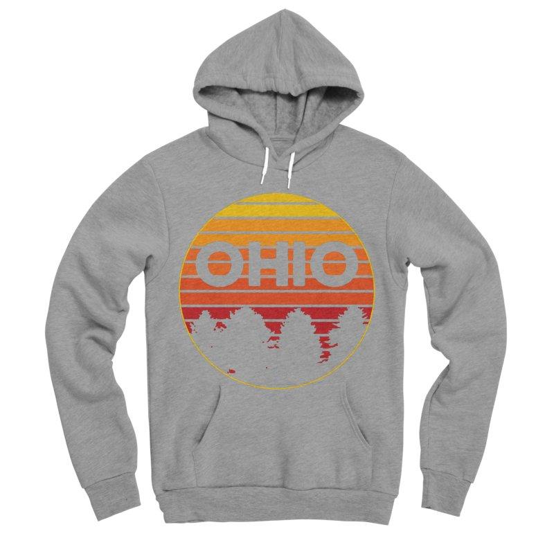 Ohio Sunsets Men's Sponge Fleece Pullover Hoody by EngineHouse13's Artist Shop
