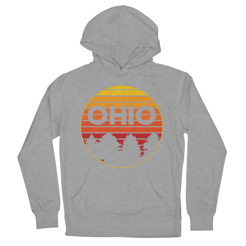 Ohio Sunsets Men's French Terry Pullover Hoody by EngineHouse13's Artist Shop